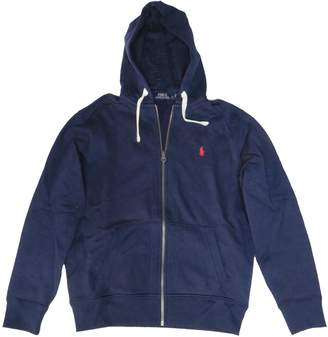 Ralph Lauren Polo Mens Hooded Sweat Jacket Hoodie Navy