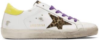 Golden Goose White Superstar Sneakers