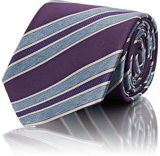 Brioni Men's Striped Silk Repp Necktie