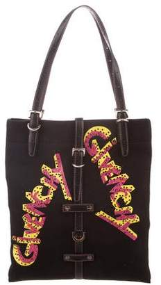 Givenchy Embellished Canvas Tote