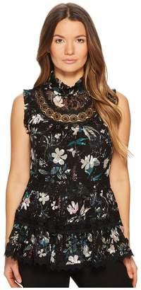 Kate Spade Botanical Chiffon Top Women's Clothing