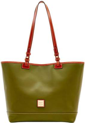47f6cce85 Dooney & Bourke Green Leather Tote Bags - ShopStyle