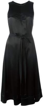 Joseph belted sleeveless dress