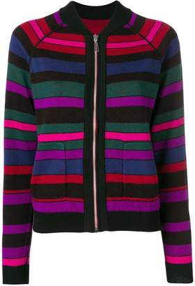 Paul Smith zipped knitted top