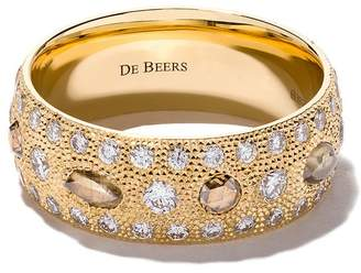 De Beers タリスマン ダイヤモンドリング 18Kイエローゴールド