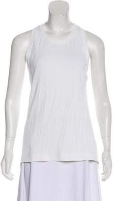 Helmut Lang Asymmetrical Sleeveless Top