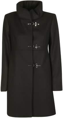 Fay High Standing Collar Duffle Coat