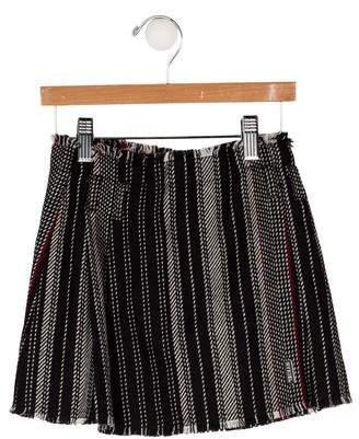 Sonia Rykiel Girls' Stripe Pleated Skirt