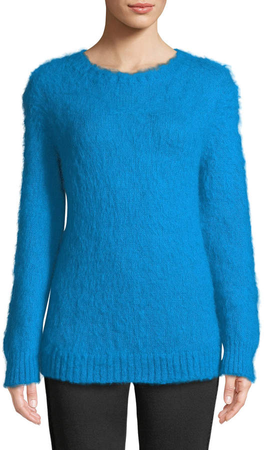Moncler Mohair-Blend Pullover Sweater