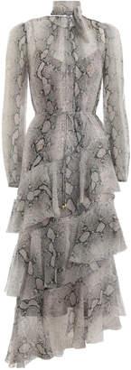 Zimmermann Corsage Tiered Dress