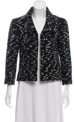 Chanel Wool Collared Jacket