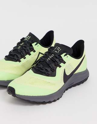 Nike Running Pegasus 36 trail sneakers in yellow