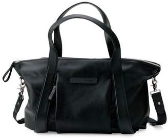 Bugaboo x Storksak Leather Diaper Tote Bag
