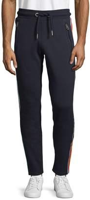 Superdry Striped Cotton Blend Jogger Pants