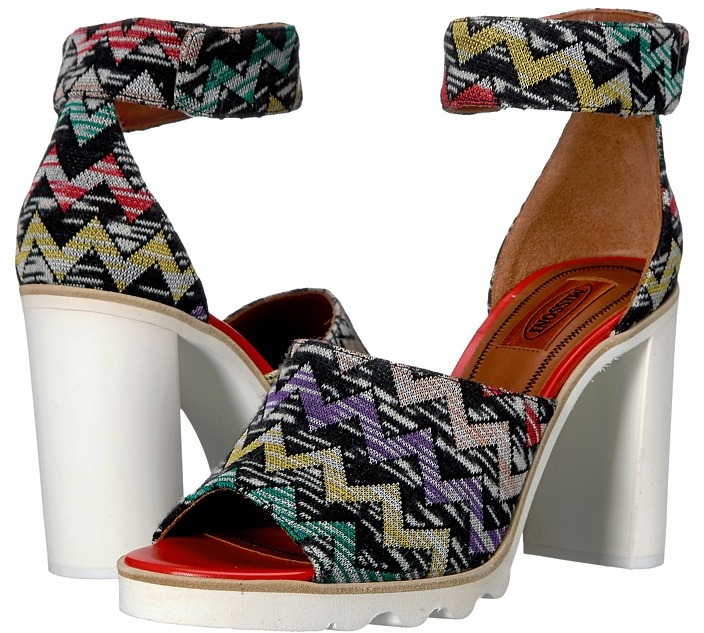 Missoni - Ankle Band Zigzag Sandal Women's Shoes