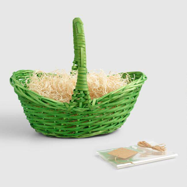 Green Easter Basket Kit