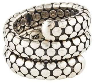 John Hardy Dot Snake Wrap Ring