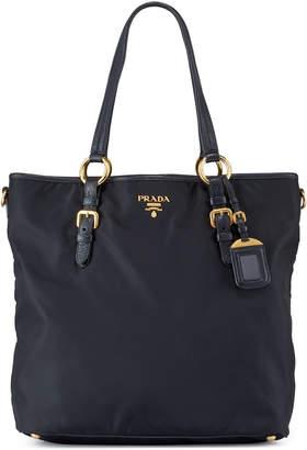 19d33076d Prada Preowned Nylon Shopper Tote Bag