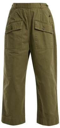 Chimala Patch-pocket cotton trousers