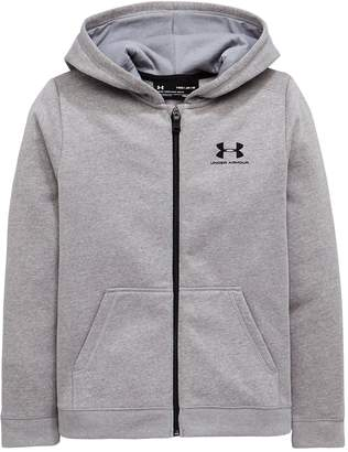 Under Armour Boys Fz Cotton Fleece Hoody