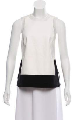Kaufman Franco KAUFMANFRANCO Sleeveless Leather Top