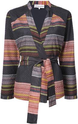 Apiece Apart fitted tie waist jacket