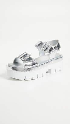 KENDALL + KYLIE Wave Platform Sandals