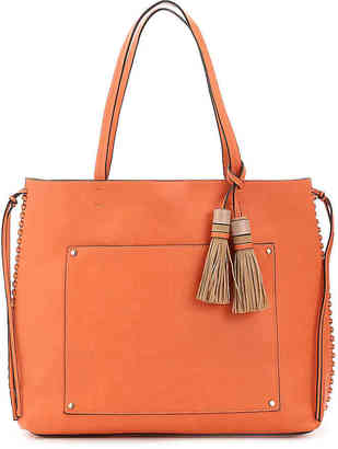 Women's Olivia Tote Bag -Orange $88 thestylecure.com