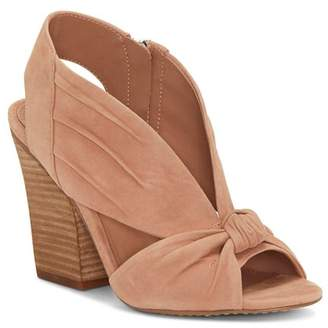 Vince Camuto Women's Kerra Knotted Suede High-Heel Slingback Sandals