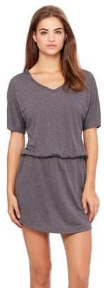 Clementine Apparel Women's Flowy V-Neck Dress