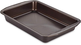 "Circulon Symmetry Nonstick Chocolate Brown 9"" x 13"" Rectangular Cake Pan"