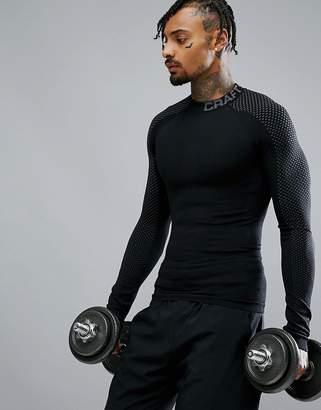 Craft Sportswear Warm Intensity Long Sleeve Top In Black 1905350-999985