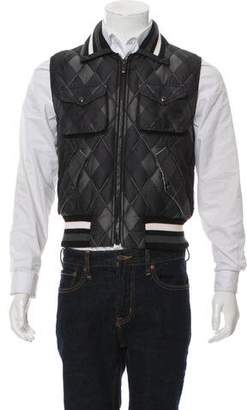 Moncler Gamme Bleu Quilted Down Vest w/ Tags