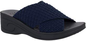 Easy Street Shoes SoLite by Elastic Wedge Comfort Sandals - Agile