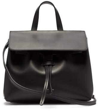 Mansur Gavriel Lady Mini Mini Leather Bag - Womens - Black Red