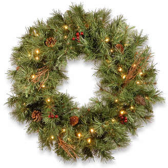 Co NATIONAL TREE National Tree Glistening Pine Indoor/Outdoor Christmas Wreath