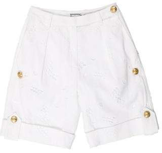 Alexis Mabille Mid-Rise Knee-Length Shorts