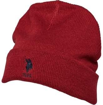 U.S. Polo Assn. Mens Willow Beanie Tibetan Red