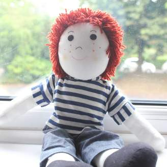 tribe of five Personalised Rag Doll Tom