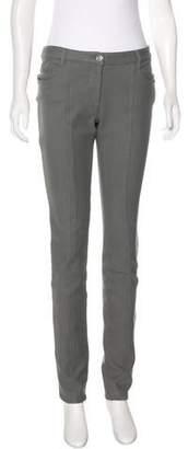 Chanel Mid-Rise Skinny Pants