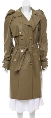 Lanvin Oversize Double-Breasted Trench Coat