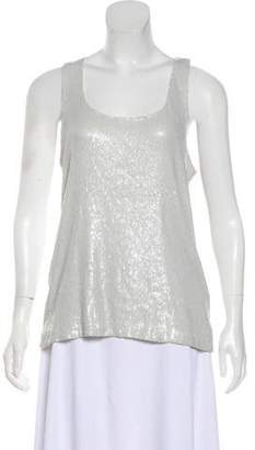 Alice + Olivia Sleeveless Sequence Top