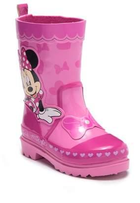 Josmo Minnie Mouse Waterproof Rain Boot (Toddler & Little Kid)