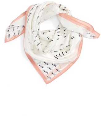 Women's Halogen Square Silk Scarf $29 thestylecure.com