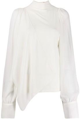 Vera Wang loose fit blouse