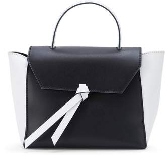 Alexandra de Curtis JK Mini Satchel Black & White