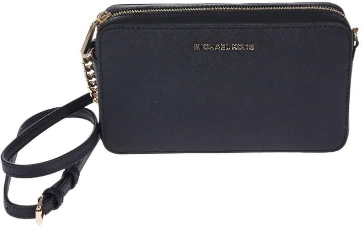 Michael Kors Michael Jet Set Travel Shoulder Bag - BLACK - STYLE