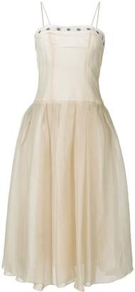 Romeo Gigli Pre-Owned full midi gown