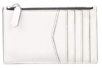 Calvin Klein Leather Zip Pouch