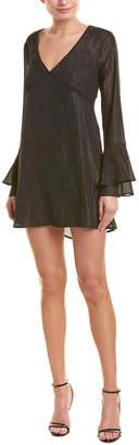 BCBGeneration Bell-Sleeve Shift Dress